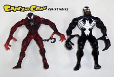 Spider-Man Classics VENOM vs. CARNAGE Loose Action Figure 2 Pack Toy Biz 2001