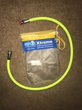 Neon Yellow MiFlex 36 inch Braided Hose - Scuba Diving Regulator Hose - 36 in.