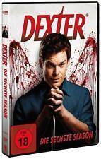 "4 DVD - BOX ""DEXTER"" -SEASON/STAFFEL 6+neuwertig+FSK 18"