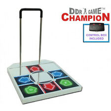 DDR Champion Arcade Metal Dance Pad w/ Handle Bar for PS / PS2 Brand New