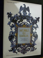 GRAZIANO MANNI - MOBILI IN EMILIA - ARTIOLI EDITORE MODENA 1986