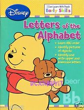 I Can Learn with POOH Illustrated Workbook LETTERS OF ALPHABET PreK-K Ages 4+