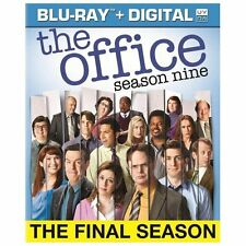 The Office: Season Nine (Blu-ray Disc, 2013, 4-Disc Set, Includes Digital...