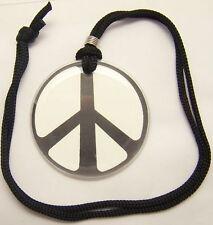 COLLANA CIONDOLO PLASTICA PACE PEACE