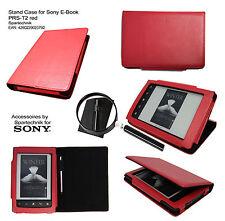 Bolso F. Sony E-Book Reader prs-t2 PRS t2 m soporte y especializados para lápiz rojo Case