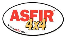 "ASFIR 4X4 Sticker Decal 7"" x 4"""