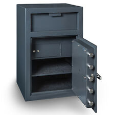 Hollon Safe B-Rated Depository Safe Electronic Lock w/Inner Lock Box FD-3020EILK