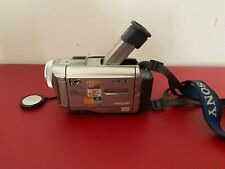 Sony Handycam DCR-TRV8 NTSC w/original charger (AC-SQ950), tested/working