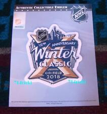 Official NHL 2018 Winter Classic Patch New York Rangers vs Buffalo Sabres