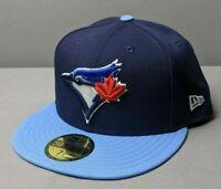New Era MLB Men's Toronto Blue Jays New Era Navy On-Field 59FIFTY Fitted Hat