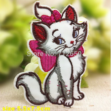 Cat Kitten Patch Kitty Pussy Embroidered Iron Sew On  Applique Badge Sexy Motif