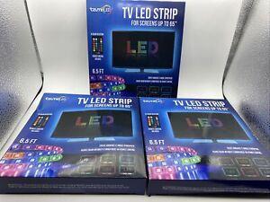 Lot Of 3 Packages Of Tzumi USB/LED Under Cabinet/TV Mood Light