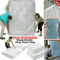 MATTRESS BAG STORAGE COVER DUST PROTECTOR HEAVY DUTY SINGLE DOUBLE SUPER KING UK
