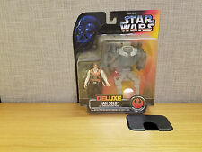 Kenner Star Wars Deluxe Han Solo Action Figure, Brand New!