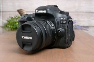 Canon EOS 80D 24.2 MP Digital SLR Camera with 18-55mm STM IS Zoom Lens