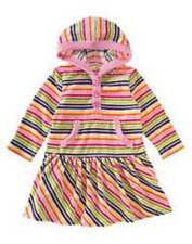 NWT GIRL GYMBOREE CANDY SHOPPE STRIPED VELOUR PLAY DAY DRESS 12-18 MOS