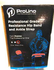 New Lg Prouno Exercise Resistance Hip Bands Ankle Straps Strengthen Professional