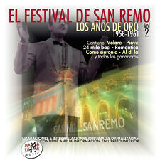 EL FESTIVAL DE SAN REMO Vol.2-CD