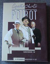 Hercule Poirot - Agatha Christie, saison 9 - 4 DVD