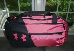 Under Armour Duffel Bag Water Resistant Small Undeniable 4.0 Watermelon NWT