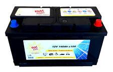 MAK Solarbatterie 12V 140Ah Wohnmobil Camping Versorgung Boot Reha Batterie
