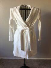 UGG Australia Women's Cozy MIRANDA Hooded Robe SEAGULL Size S (White) $125 NWT