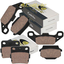 FRONT & REAR BRAKE PADS FITS SUZUKI LT250R Quadracer 250 1985 1986