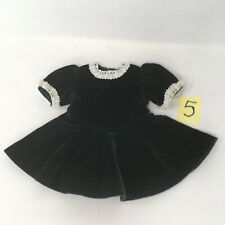 Molly's Evergreen Christmas Velvet Dress 1988 Pleasant Company American Girl