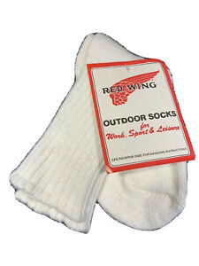 Vtg Dead Stock Red Wing Oxford Outdoor Socks Wool Blend 9-11 USA Made NWT!!! #2