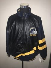NFL San Diego Chargers Jacket XXL 2XL Leather G-III Apparel Brand New NWT