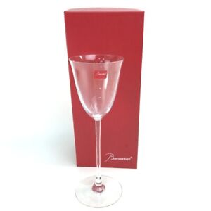 Unused Baccarat Philao 1 guest wine glass Crystal glass clear