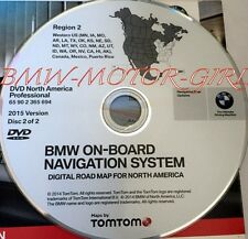 Authentic BMW X3 X5 (E53) Z4 Navigation DVD CD # 699 WEST Map Update © 2015 OEM