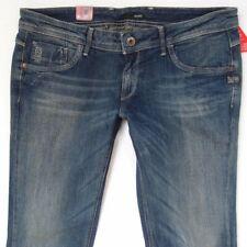 NEW Womens G-Star ATTACC STRAIGHT WMN Stretch Blue Jeans W34 L32 UK Size 14 BNWT