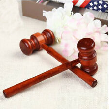 Crafted Court Hammer Gavel Handmade Wooden Auction Lawyer Judge Hammer Jian