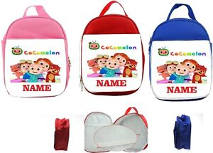 COCOMELON  # 1     #1 Personalised Kids Insulated Lunch Bag