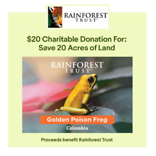 $20 Charitable Donation For: 20 Acres of Land