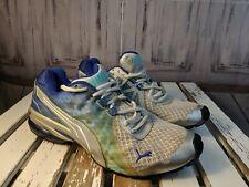 Puma cell sz 7 mens shoes sneakers hi-tops casual blue green running