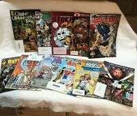 Free Comic Book Day 11 Comic book  Lot ,Landis,Dork Storm,Avatar,Way of the Rat