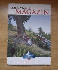 ZERMATT MAGAZINE Edition 12/2107 w/ village map Switzerland DE/EN/FR Matterhorn