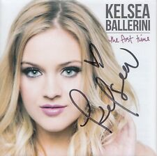 KELSEA BALLERINI signed (THE FIRST TIME) cd cover w/album *DIBS* W/COA