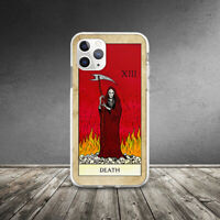 Retro Death Tarot Card Occult Case For iPhone XR 11 Pro Xs Max X 8 7 6 6s Plus