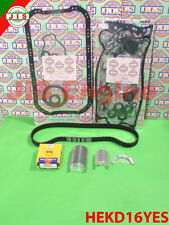 Honda 1999 2000 Civic EX 1.6L VTEC SOHC D16Y8 Engine Rebuild Kit HEKD16YES