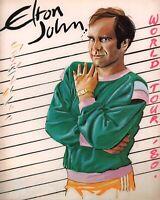 ELTON JOHN JUDIE TZUKE 1980 21 AT 33 WORLD CONCERT TOUR PROGRAM BOOK / NMT 2 MNT
