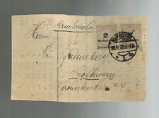 1923 Hannover Germany Inflation  Cover