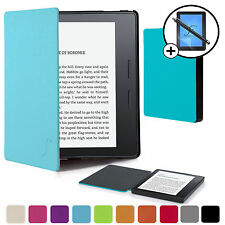 Avanguardia caso ® BLU SMART CASE COVER Amazon Kindle Oasis SCREEN PROT & Stilo