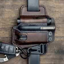 Multitool Leather Sheath EDC Pocket Organizer High Leather Outdoor Survive Bag