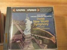living stereo FRITZ REINER Chicago Symphony WEINBERGER Smetana DVORAK Herseth