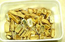 500 grams gold recovery gold bar Melted Drop Scrap plated Recovered cpu 2017 NEW