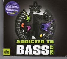 (GJ64) Ministry Of Sound, Addicted To Bass - 2012 CD