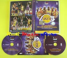 DVD basket LA LEGGENDA DEI LOS ANGELES LAKERS gazzetta sport I LOVE NBA no (D5)